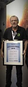 Tommy Engkvist är 2016 års elbilsförare