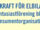 Elbil Sverige blir konsumentorganisation