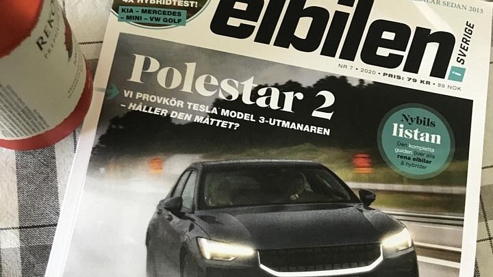 Nya numret av Elbilen i Sverige ute