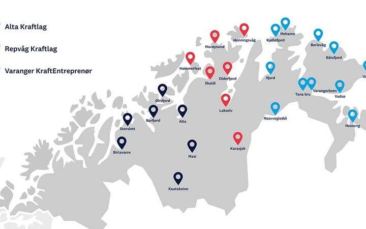 Europas nordligaste laddnätverk på plats – firar med gratis laddning