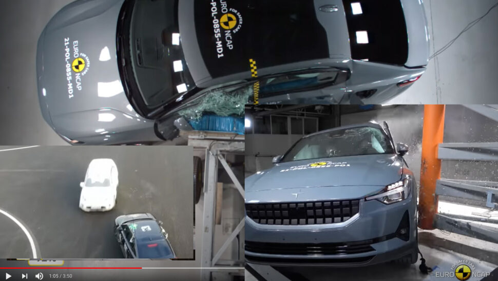 Euro NCAP har testat Polestar 2